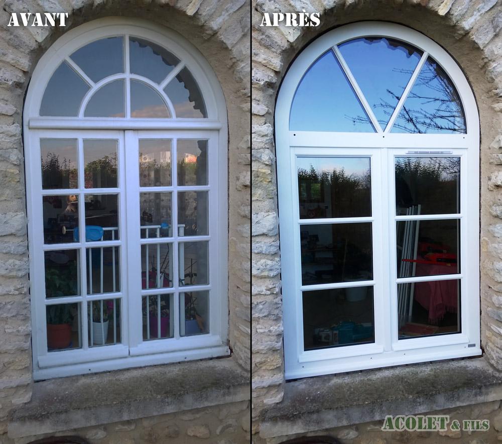Ets Acolet & Fils - Rénovation fenêtre